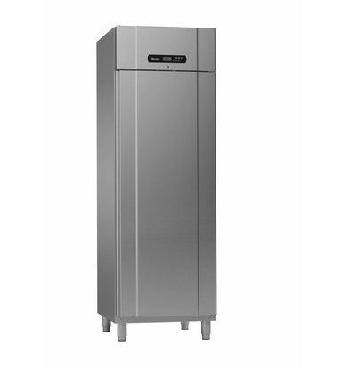 Gram Kühlschrank Edelstahl met Umluft | Gram Standard PLUS M 69 SSG | 610L | 2/1 GN | 700x895x2125mm