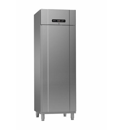 Gram Kühlschrank Edelstahl met Umluft | Gram Standard PLUS M 69 FFG | 610L | 2/1 GN | 700x895x2125mm