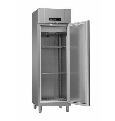 Gram Gastronomie Tiefkühlschrank Edelstahl | Gram Standard PLUS F 69 FFG | 610L | 2/1 GN | 700x895x2125mm