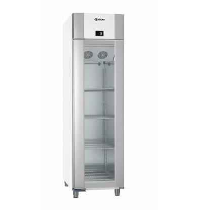 Gram Gastronomie Kühlschrank Weiß   Gram ECO EURO KG 60 LAG L2 4N   465L   600x855x2125(h)mm