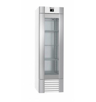 Gram Gastronomie Kühlschrank Weiß | Gram ECO MIDI KG 60 LLG 4W K | 407L | 600x771x2000(h)mm