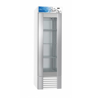 Gram Gastronomie Kühlschrank Weiß | Gram ECO MIDI KG 60 LLG 4W | 407L | 600x771x2000(h)mm