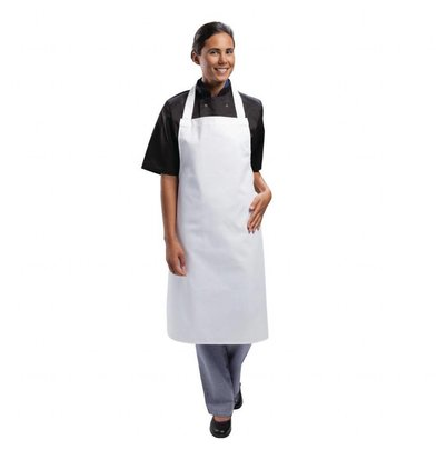 Whites Chefs Clothing Whites Latzschürze Lang | 700x950mm | Unisex