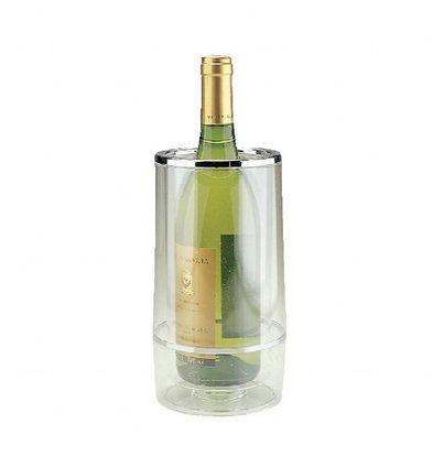 XXLselect Flaschenkühler Doppelwandig | Acryl Transparent | Ø120mmx(h)230mm