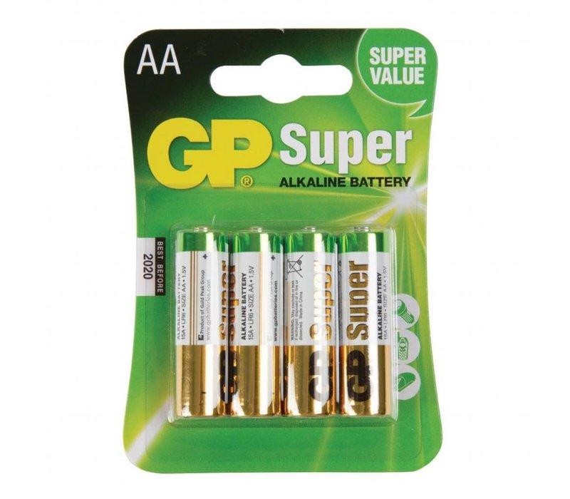 XXLselect AA Batterien 4 Stück