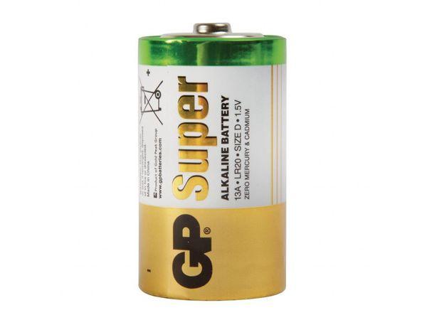 XXLselect Alkaline D-Batterien 2 Stück