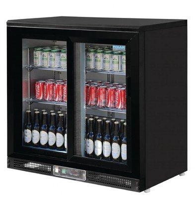 Polar Barkühlschrank | 2 Schiebetüren | 233 Liter | 920x535x(h)925mm
