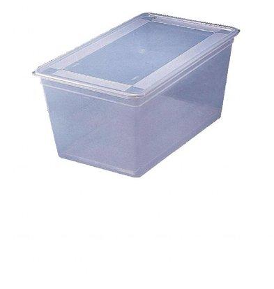 Bourgeat Lebensmittelbehälter mit Deckel | 1/2GN | 4 Stück