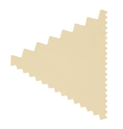 Matfer Dekorierkamm | Polypropylen | 40x60mm