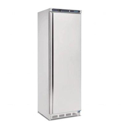 Polar Edelstahl Kühlschrank | 400 Liter | 600x600(h)1850mm