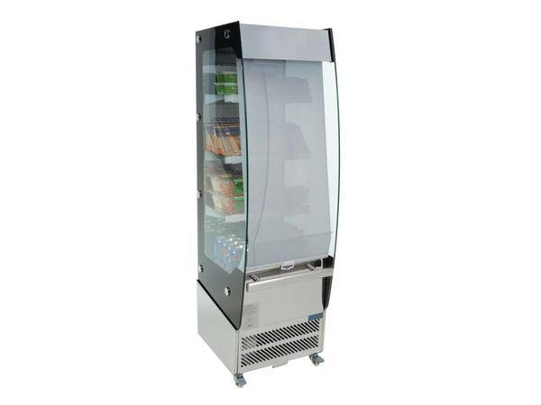 Kühlschrank Polar : Polar display kühlschrank mit nachtrollo liter h