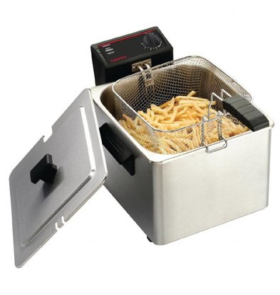 Caterlite Friteuse Basic | 8 Liter | 3kW | 42x408x(h)280mm