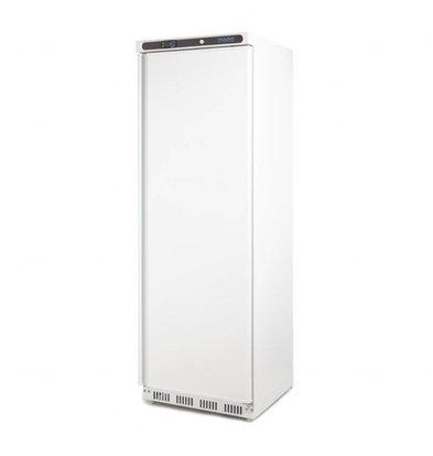 Polar Kühlschrank Stahl Weiß | 400 Liter | 600x600(h)1850mm