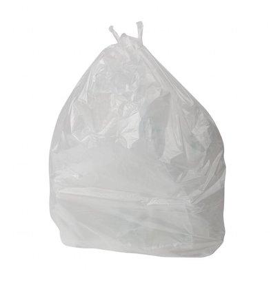 Jantex Müllbeutel Transparent | 100 Liter | 200 Stück