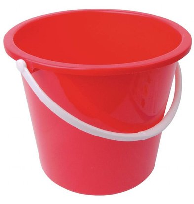 Jantex Kunstoffeimer Rot | 10 Liter