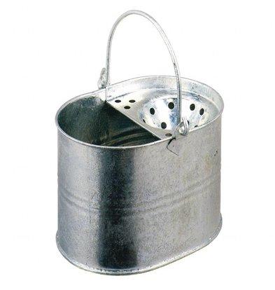 Jantex Galvanisierter Moppeimer | 15 Liter