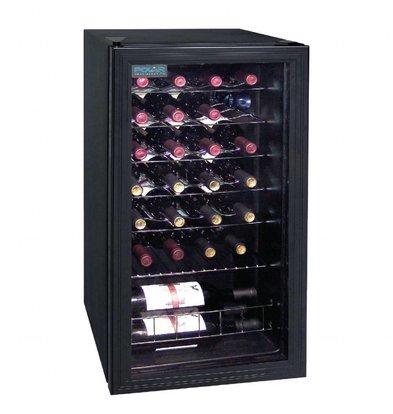 Polar Weinkühlschrank | 28 Flaschen | 430x480x(h)830mm
