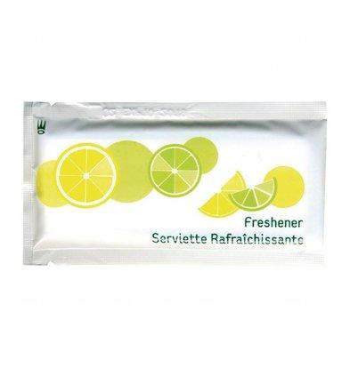 Plastico Erfrischungstuch Zitrone | 270x180mm | 1000 Stück