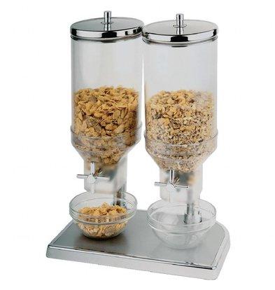 XXLselect Cerealienspender Duo | Kunststoff | 2x 4,5 Liter