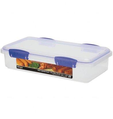Sistema Klip It Frischhaltedose | 1,7 Liter | Stapelbar | 70x152x290mm
