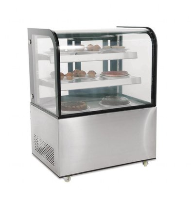 Polar Kühlvitrine | 270 Liter | 2 Glasroste | 725x915x(h)1275mm