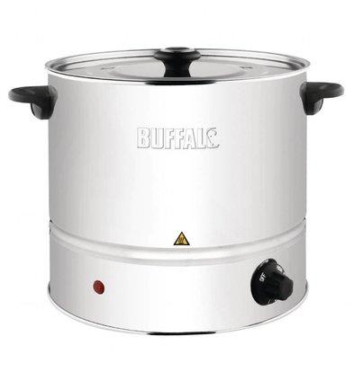 Buffalo Edelstahl Dampfgarer | 6 Liter | Regelbare Thermostat