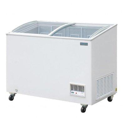 Polar Tiefkühltruhe mit Glasdeckel | 270 Liter | 654x1195x(h)928mm