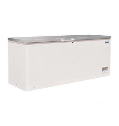 Polar Tiefkühltruhe mit Edelstahl Deckel | 523 Liter | 688x1995x845(h)mm