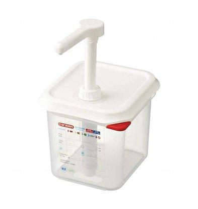 Araven Saucenspender 1/6GN Transparent | 2,6 Liter