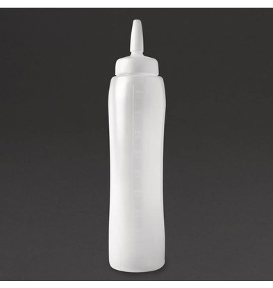 Araven Transparente Saucenflasche PE | 1 Liter | 311mm