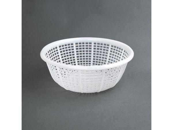 Vogue Abtropfsieb Weiß | Polyäthylen | Ø288x113mm