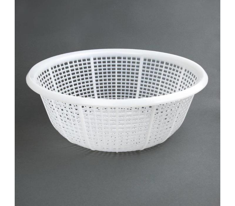 Vogue Abtropfsieb Weiß | Polyäthylen | Ø375x144mm