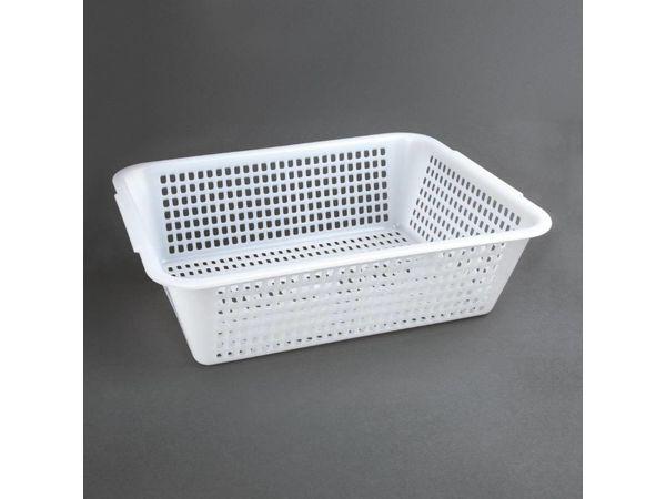 Vogue Abtropfsieb Weiß | Polyäthylen | 357x270x(h)104mm