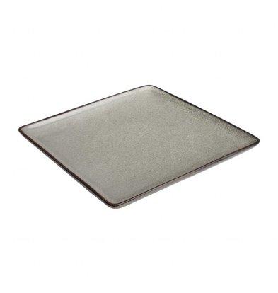 Olympia Viereckiger Teller Olympia Mineral | 230x230mm | 6 Stück