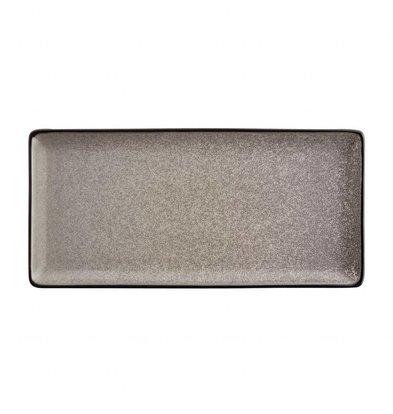 Olympia Rechteckiger Teller Olympia Mineral | 230x120mm | 6 Stück
