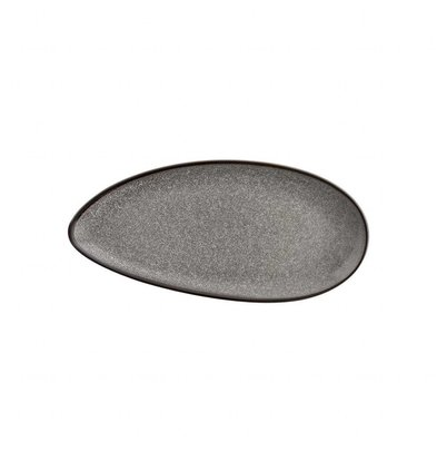 Olympia Blattförmiger Teller Olympia Mineral | 255x120mm | 6 Stück