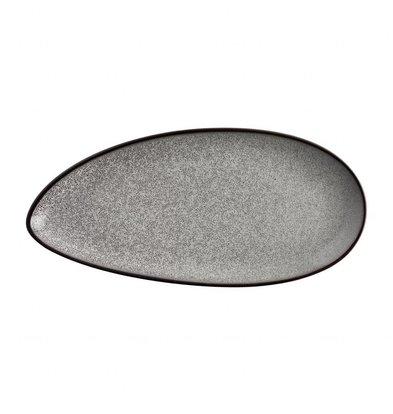 Olympia Blattförmiger Teller Olympia Mineral | 305x145mm | 6 Stück