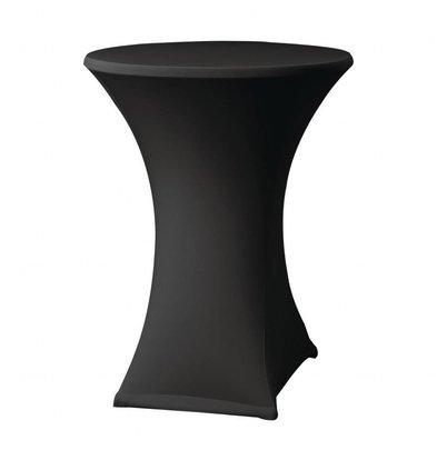 XXLselect Samba Tischhusse | Für Stehtische bis Ø850x(h)1150mm | Schwarz