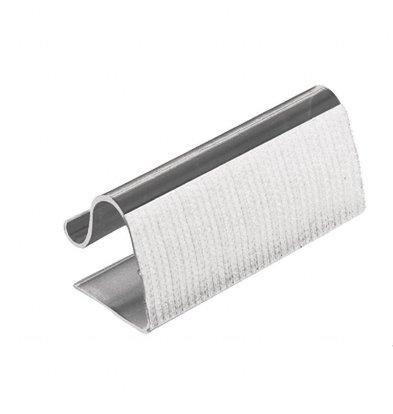 XXLselect Klettbandtischklipps für Skirting | 5-20mm | 10 Stück