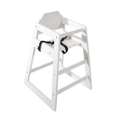 Bolero Kinderhochstuhl antik Weiß | 510x510x(h)750mm