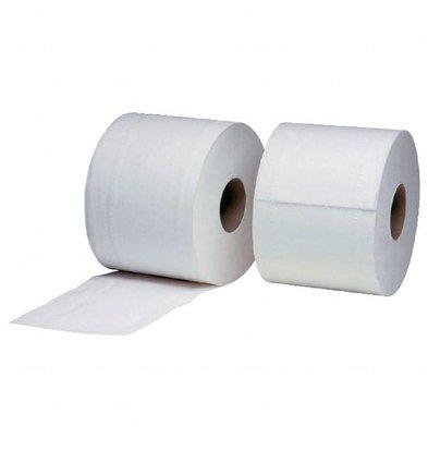 Jantex Toilettenpapier 2-lagig Weiß   Jantex   36 Rollen x 320 Blatt