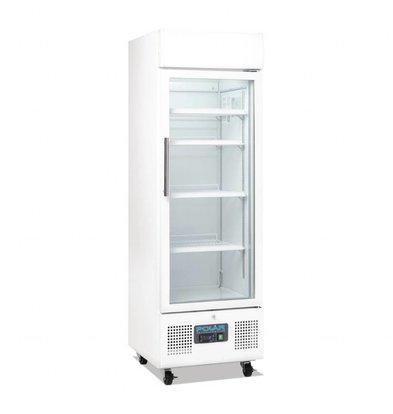 Polar Kühlschrank mit Glastür | 218 Liter | 530x570x(h)1610mm