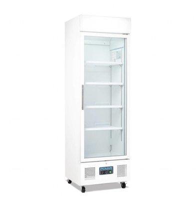 Polar Kühlschrank mit Glastür | 336 Liter | 620x570x(h)1900mm