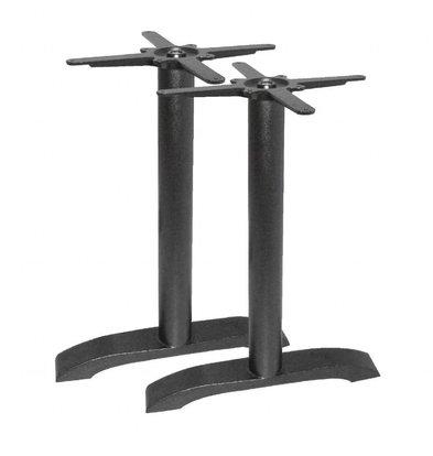 Bolero Doppeltischfuß Gußeisen | Universell | Höhe 720mm | Für Tischplatten bis 700x1100mm