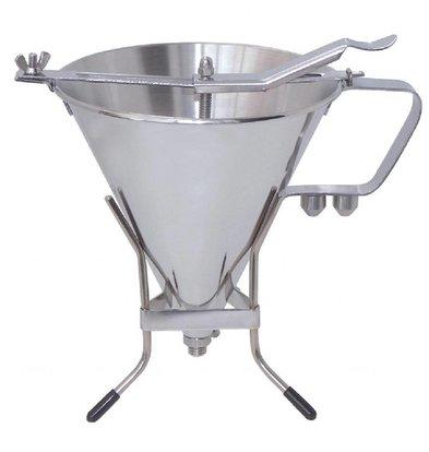 De Buyer Fondanttrichter Edelstahl | 1,5 Liter