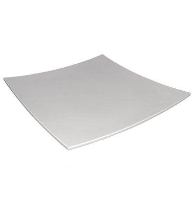 Kristallon Teller Viereckig | Melamin Weiß | 310x310mm