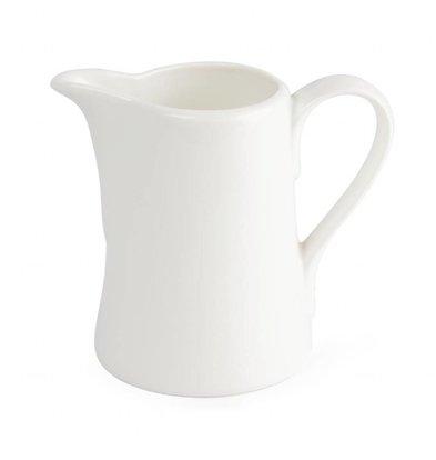 Lumina Fine China Milchkännchen 150 ml | Lumina Porzellan Weiß | 6 Stück