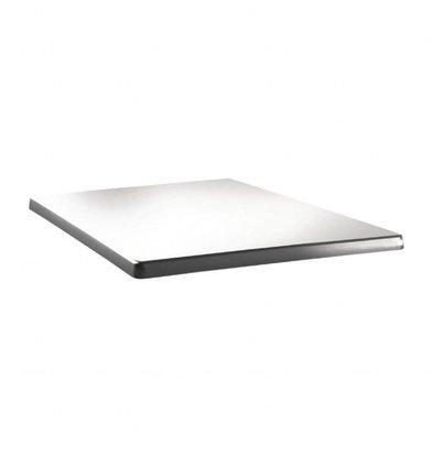 Topalit Classic Line Tischplatte Viereckig | Weiß | Erhältlich in 3 Größen