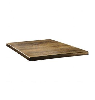 Topalit Classic Line Tischplatte Viereckig | Atacama Kirschholz | Erhältlich in 3 Größen