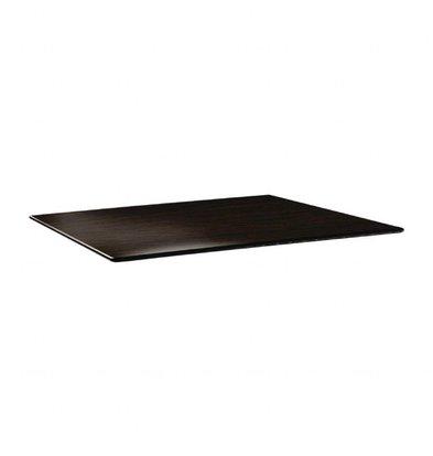 Topalit Smartline Tischplatte Rechteckig   Wenge   120x80cm